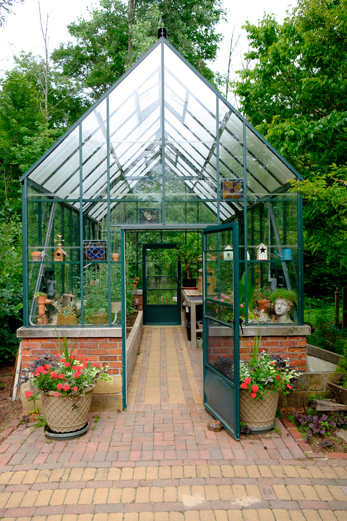 photograph of the greenhouse